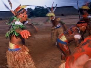 ritual dança do papagaio HN005_mehinaku