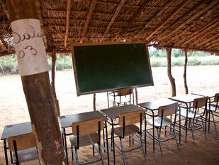 sala de aula, escola HN0295_xavante