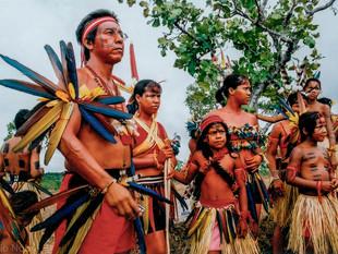 dia a aprentação do Projeto Meri Ore Eda ao Ministro da Cultura HN1114_bororo