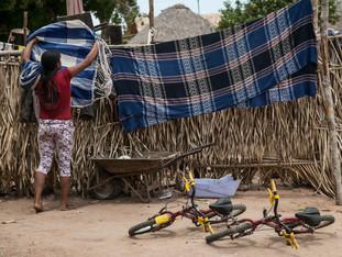 varal, colocando a rede para secar, bicicletas HN0841_karaja