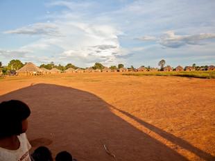 vista geral da aldeia HN0203_xavante