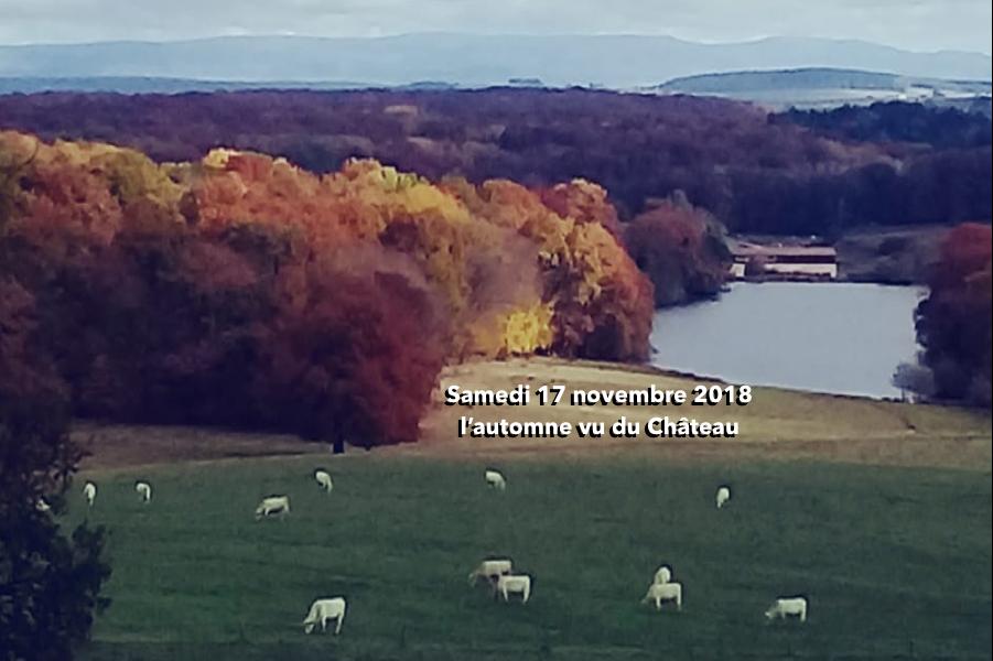 L'automne vu du Château