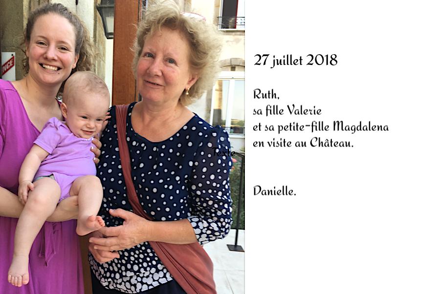 En visite au Château