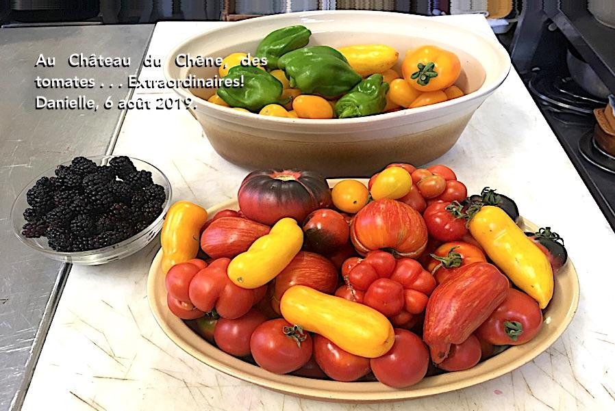 Des tomates du Château