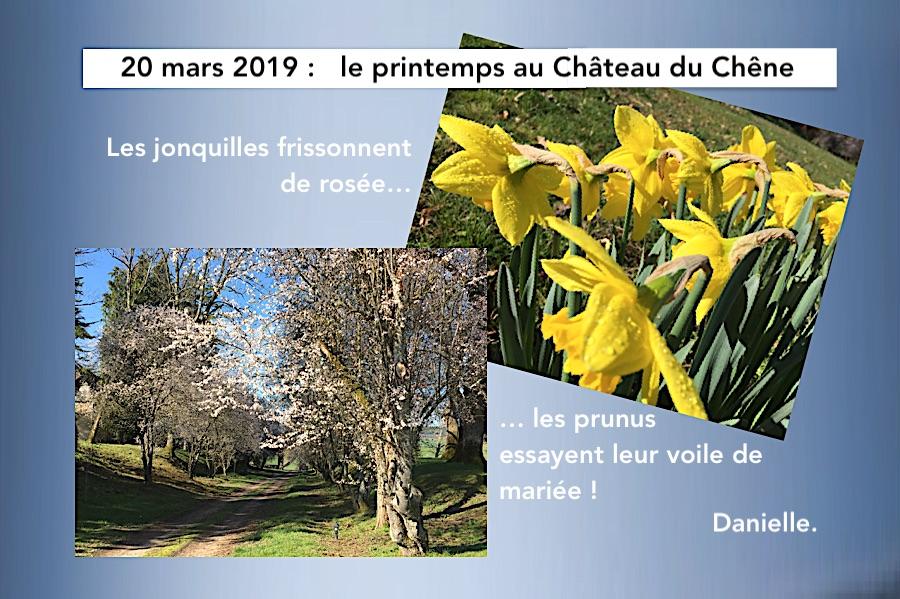 Le printemps 2019