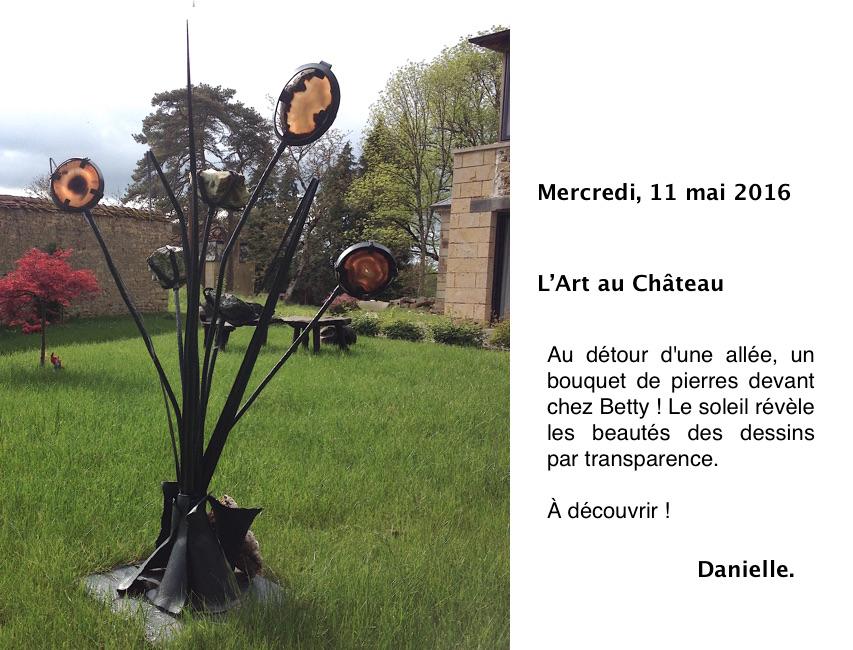 L'art au Château