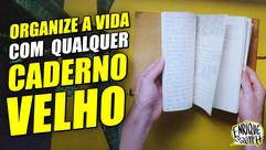 Como organizar caderno