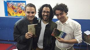 Enrique Coimbra, Jean Wyllys, Ramon Nune