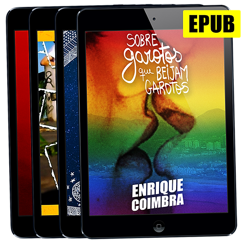 Pacote EPUB: Todos os livros de Enrique Coimbra