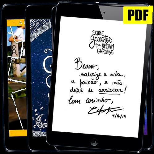 Pacote PDF Autografado: Romances de Enrique Coimbra