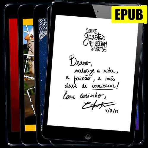 Pacote EPUB Autografado: Todos os livros de Enrique Coimbra