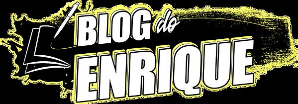 Logotipo do Blog do Enrique por Enrique Coimbra.