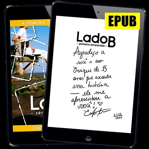 Livro EPUB Autografado: Lado B, 1ª Temporada de Enrique Coimbra