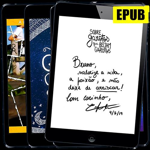 Pacote EPUB Autografado: Romances de Enrique Coimbra