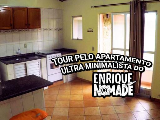 Tour no apartamento ultra minimalista do Enrique Nômade em Florianópolis @enriquenomade