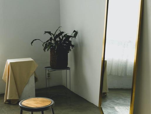 Der Spiegel im Schlafzimmer
