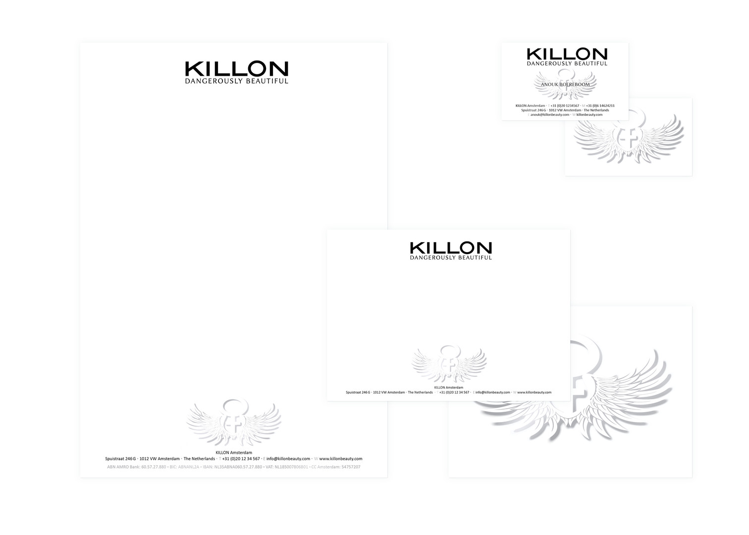 Killon beauty Corporate ID