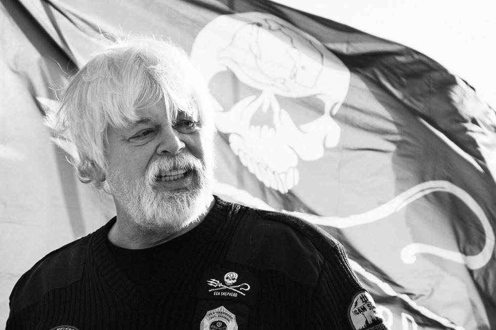 Paul Watson - founder of Green Peace and Sea Shepherd