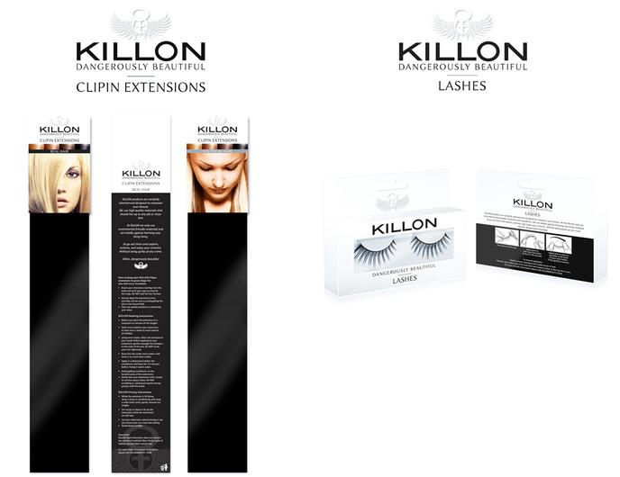 Killon beauty packaging