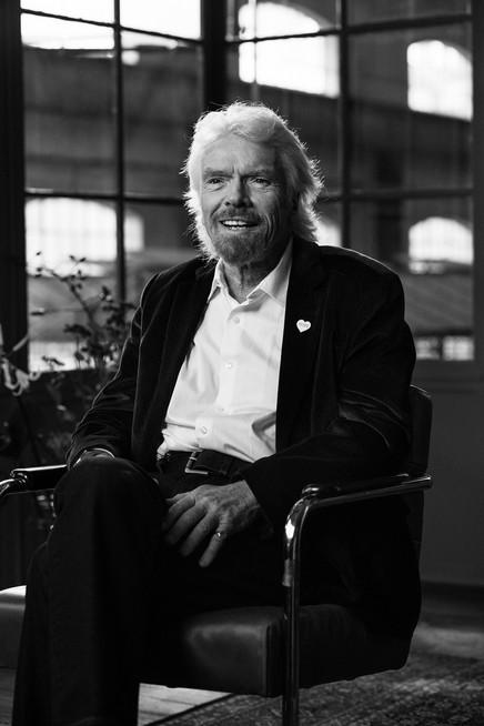 Richard Branson - founder Virgin
