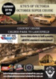 2019 Oct KTG Super Cruise sponsors logos