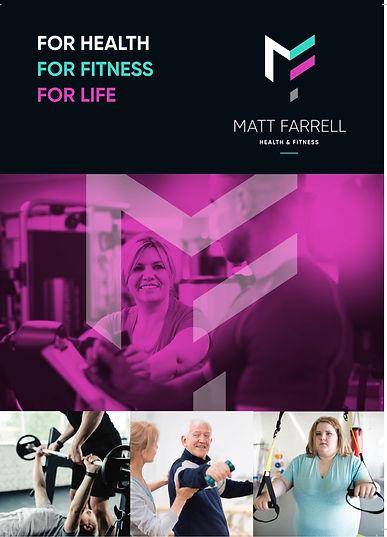 Matt Farrell Health & Fitness Flyer