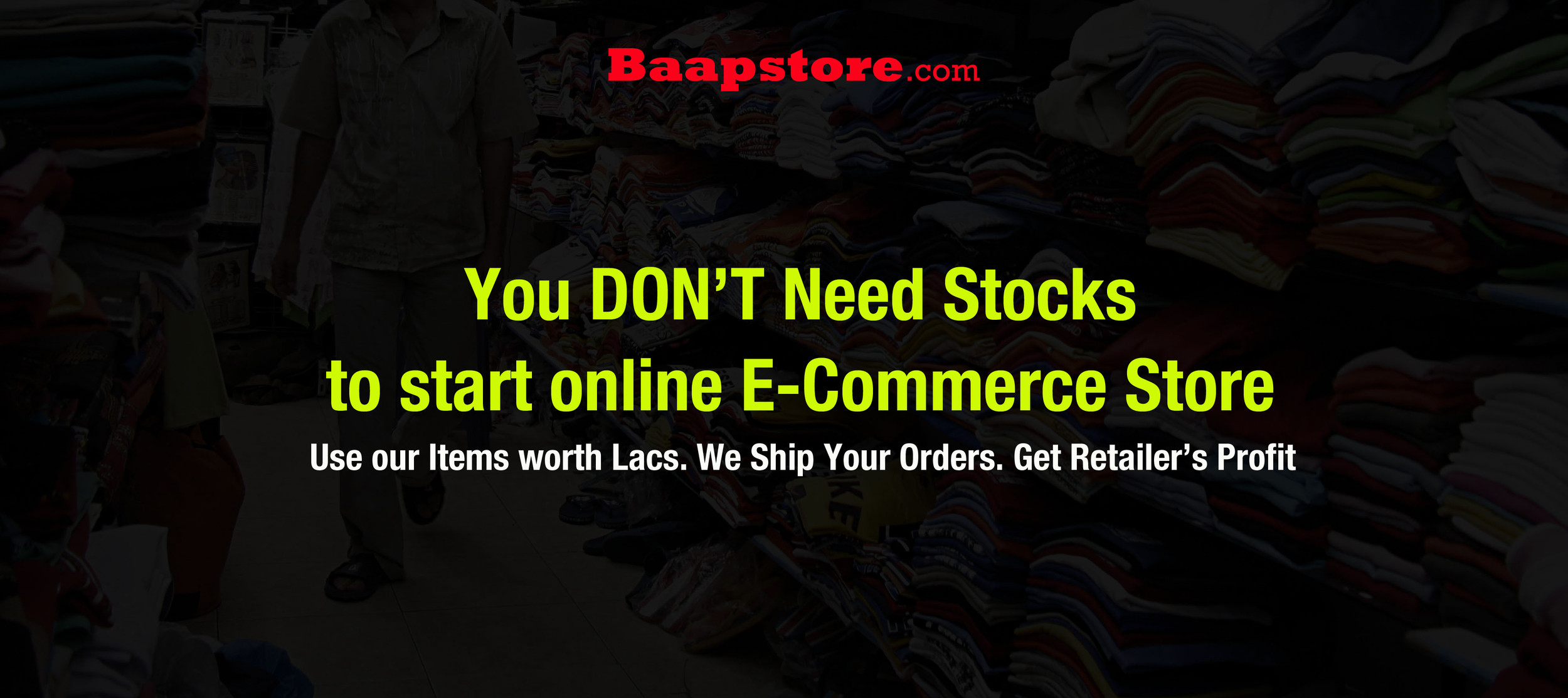 Best Dropshipping Business India - BaapStore