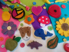 Felt Brooch workshop as part of BBC Get Creative in York