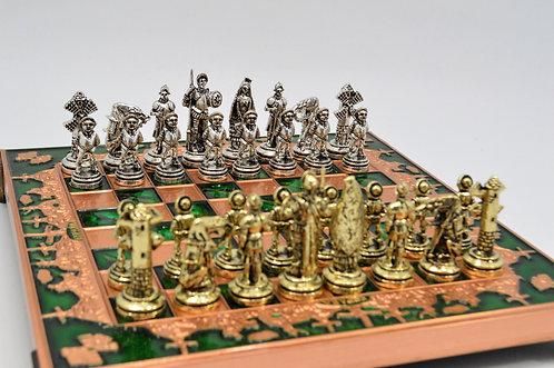 Don Quixote Chess Set - Green Board