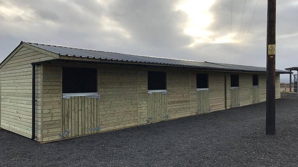 12x36 Dartmoor Stable block