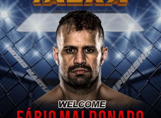 Bem-vindo ao time Fábio Maldonado!