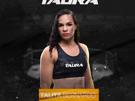 TALITA BERNARDO É A NOVA ATLETA TAURA MMA!