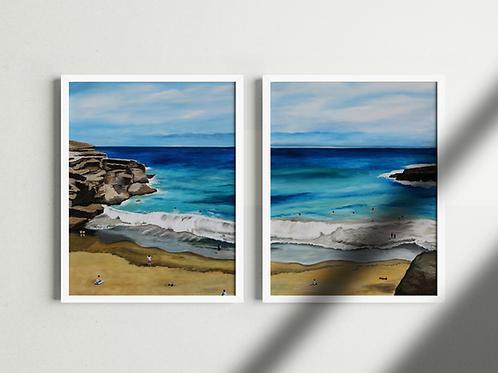 """Driving to Hawaii"" Set - Prints"
