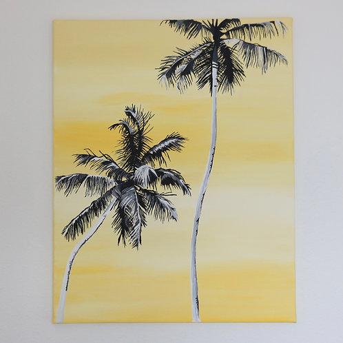 Yellow Palm - Original