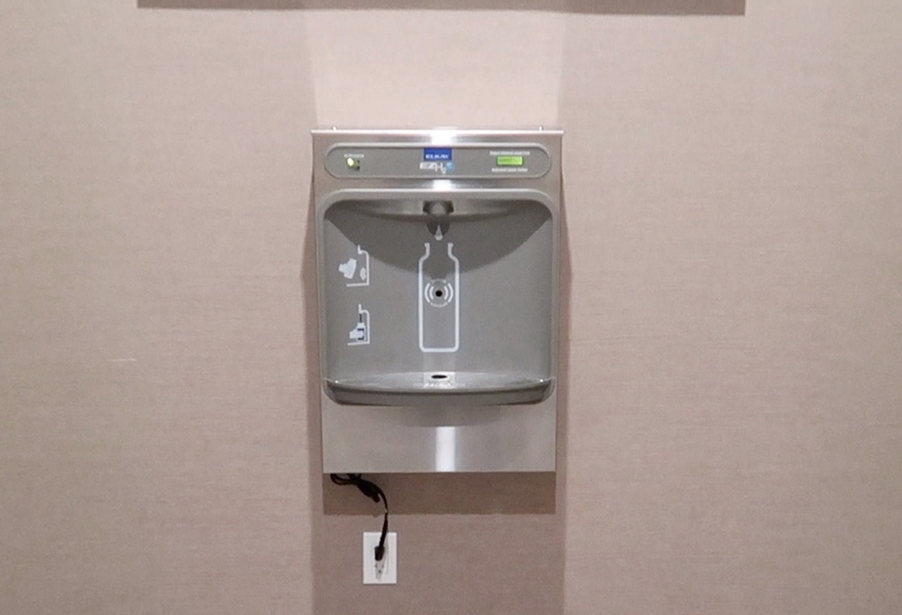 Water Station in Lobby