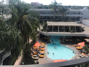 Anaheim Marriot Pool View Room