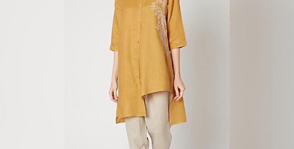 Linen Embroidery Shirt