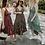 Thumbnail: Grey Paisley Maxi Dress