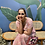 Thumbnail: Maxi lekha hand block print dress