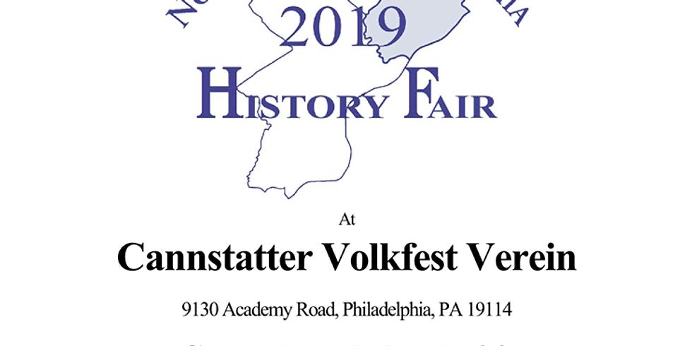 Northeast Philadelphia History Fair 2019