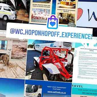 West Coast Hop On Hop Off Experiences
