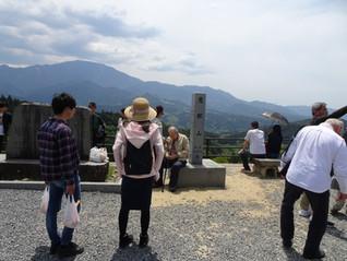 峡中支部  岐阜県 中山道43番目の宿場町「馬籠宿」をウォーキング