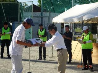 甲府・竜王社会保険委員会 合同グラウンドゴルフ大会 3年ぶりに開かれる