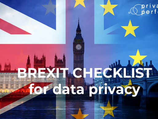 Brexit Checklist For Data Protection.