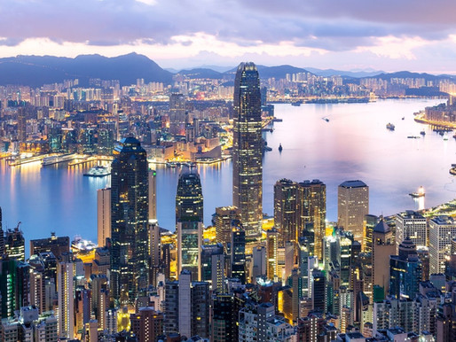 Hong Kong Economy Sees Light At End Of Tunnel.