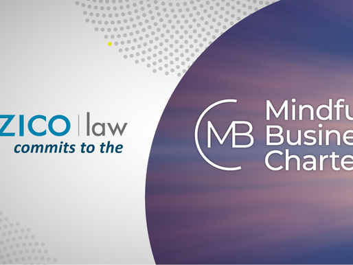 ZICO Law Commits To Mindful Business Charter - Better Working Practices.