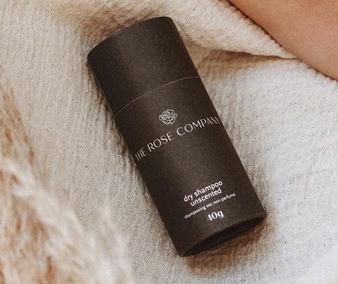 Unscented Natural Dry Powder Shampoo