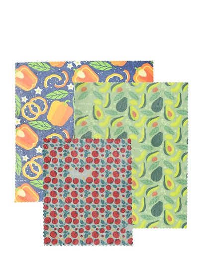 "LilyBee Beeswax Wraps 3-Pack ""Salad Bowl"""