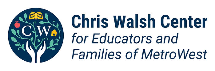Chris Walsh Center for Educators and Families of MetroWest Logo.