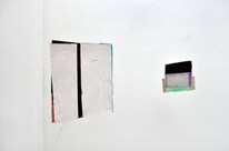 """from left to right: """"White-White""""  23×19.5cm """"New Flat of H"""" 23.5×31.5cm"""